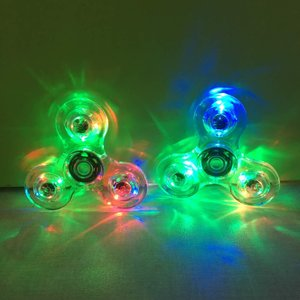 Transparante led spinner waterproof